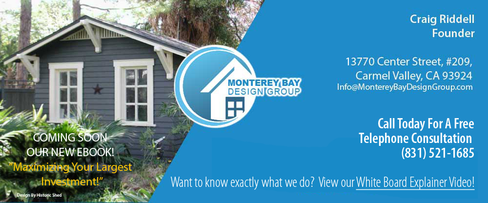 Monterey Bay Design Group, Your site for ADUs (Auxilary Dwelling
